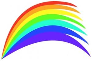 300x200 Bridge Clipart Rainbow