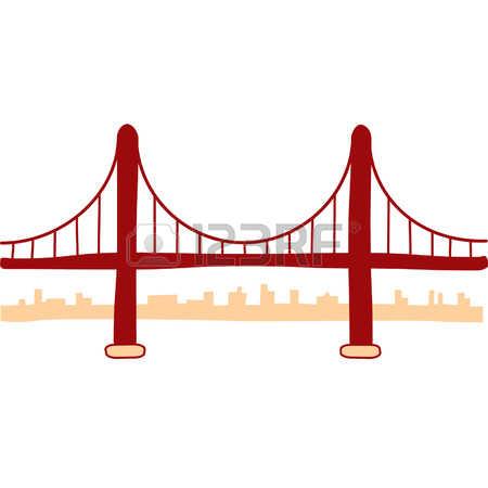 450x450 Golden Gate Bridge Clipart
