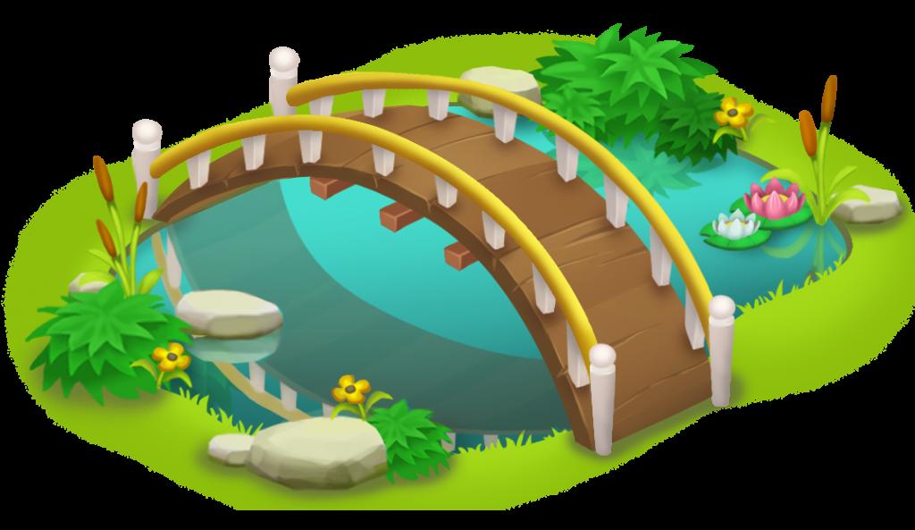 1024x593 Simple Bridge Clipart Bridge And Pond Png Clip Art Best Web