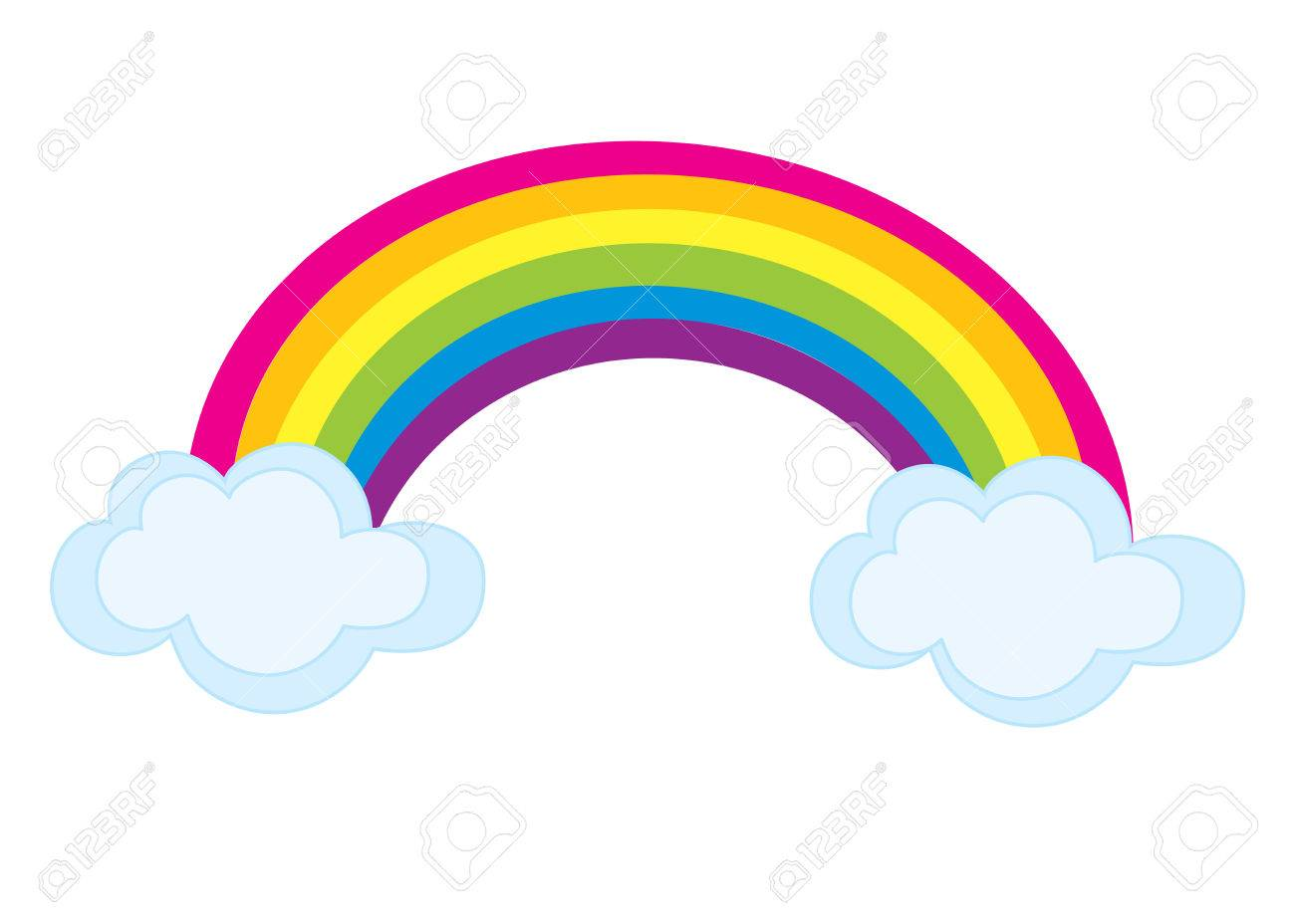 1300x928 Clip Art Rainbow Pictures Images On Page 0 Yanhe Clip Art