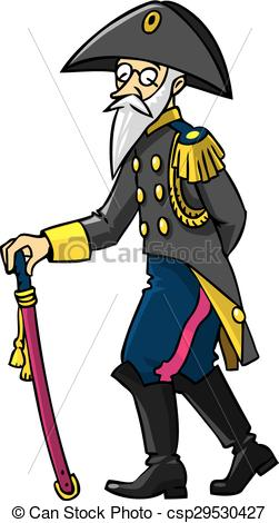 251x470 Old Soldier Clipart