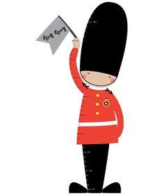 236x280 Queen's Guards Digital Clipart