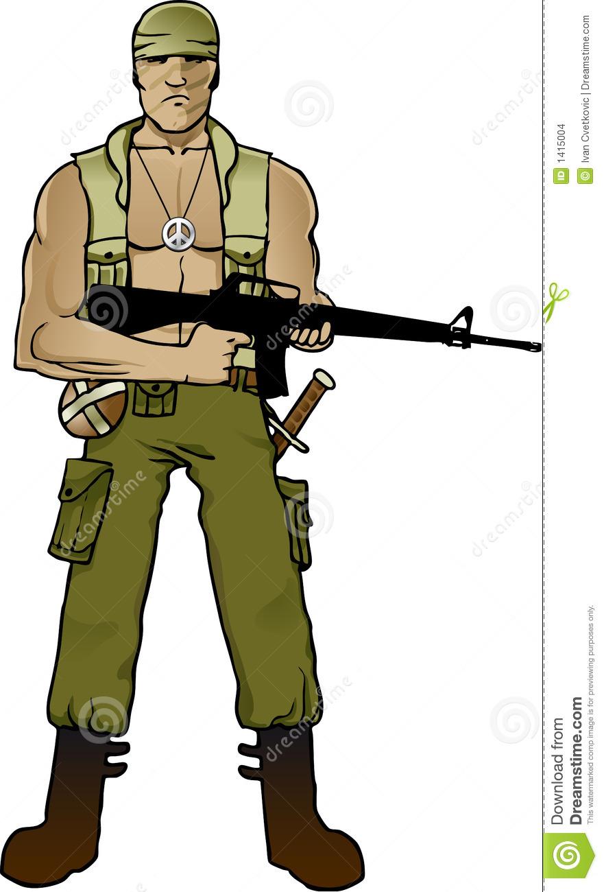 881x1300 Soldiers Clipart Commando