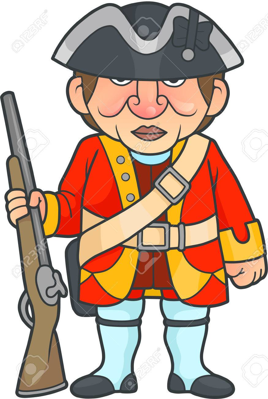 875x1300 Collection Of Colonial British Soldier Clipart High Quality