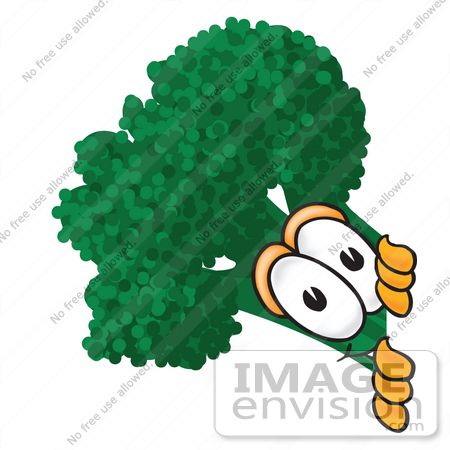 450x450 Cliprt Graphic Of Broccoli Mascot Character Lookinground