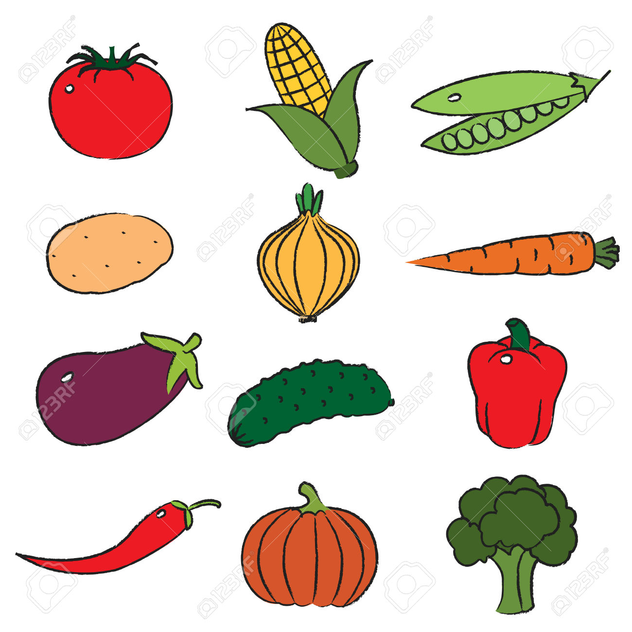 1300x1300 Broccoli Clipart Cooked Vegetable