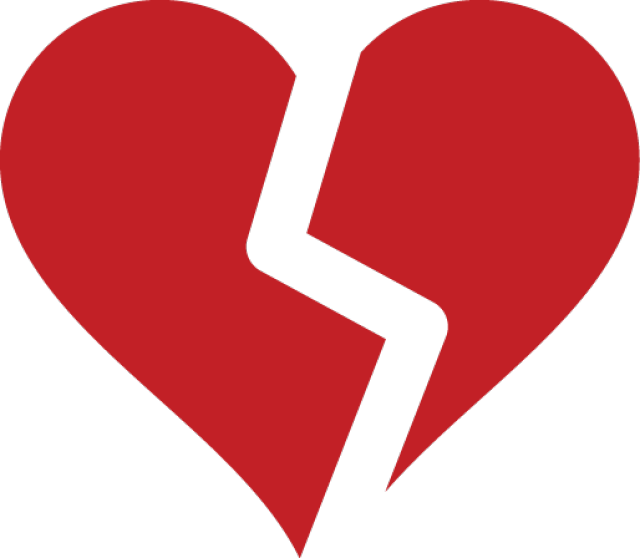 640x558 Broken Heart Symbol Broken Heart Symbol, Symbols And Clip Art