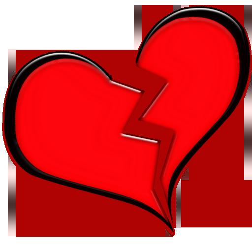 512x512 Broken Hearts Clipart Danasrgg Top