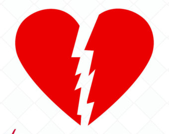 340x270 Broken Heart Art Etsy
