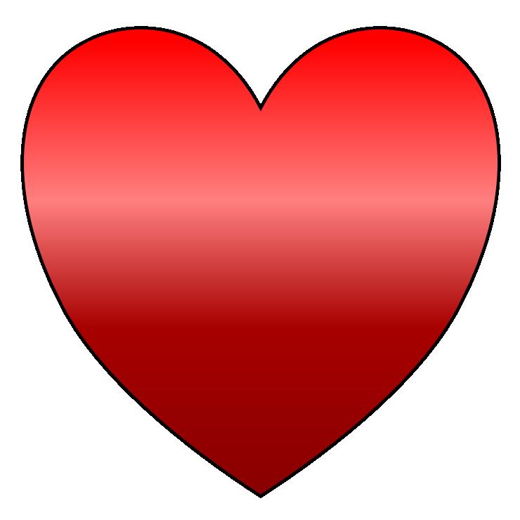 740x740 Clip Art Red Heart Clipart Panda
