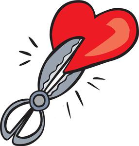 286x300 Free Broken Heart Clipart Image 0527 1303 2607 0058 Valentine