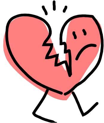 348x412 Pictures Broken Heart Clip Art,