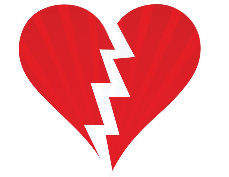 800x618 Plush Broken Heart Clipart Irresistible Free Clip Art