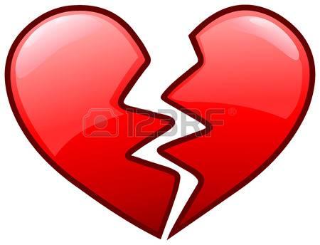 450x344 Startling Broken Heart Clipart 9 379 Cliparts Stock Vector