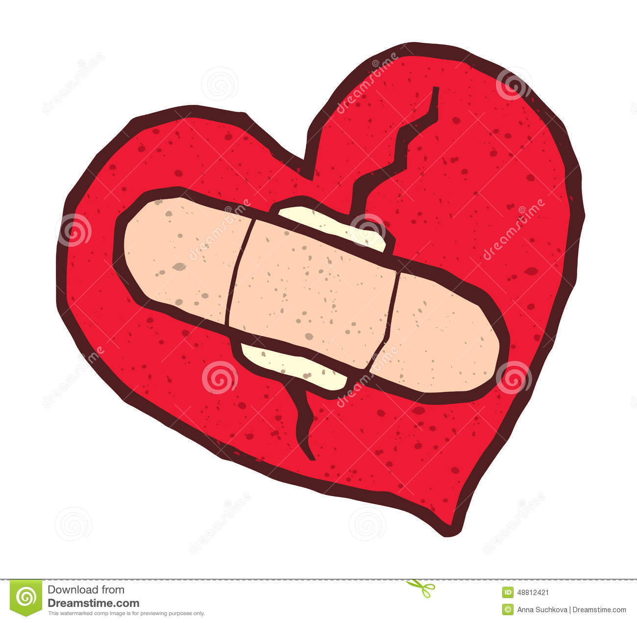 1300x1272 Collection Of Broken Heart With Bandaid Clipart High Quality