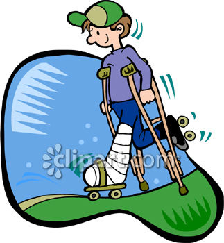broken leg clipart at getdrawings com free for personal use broken rh getdrawings com broken ankle clipart broken leg cartoon clipart