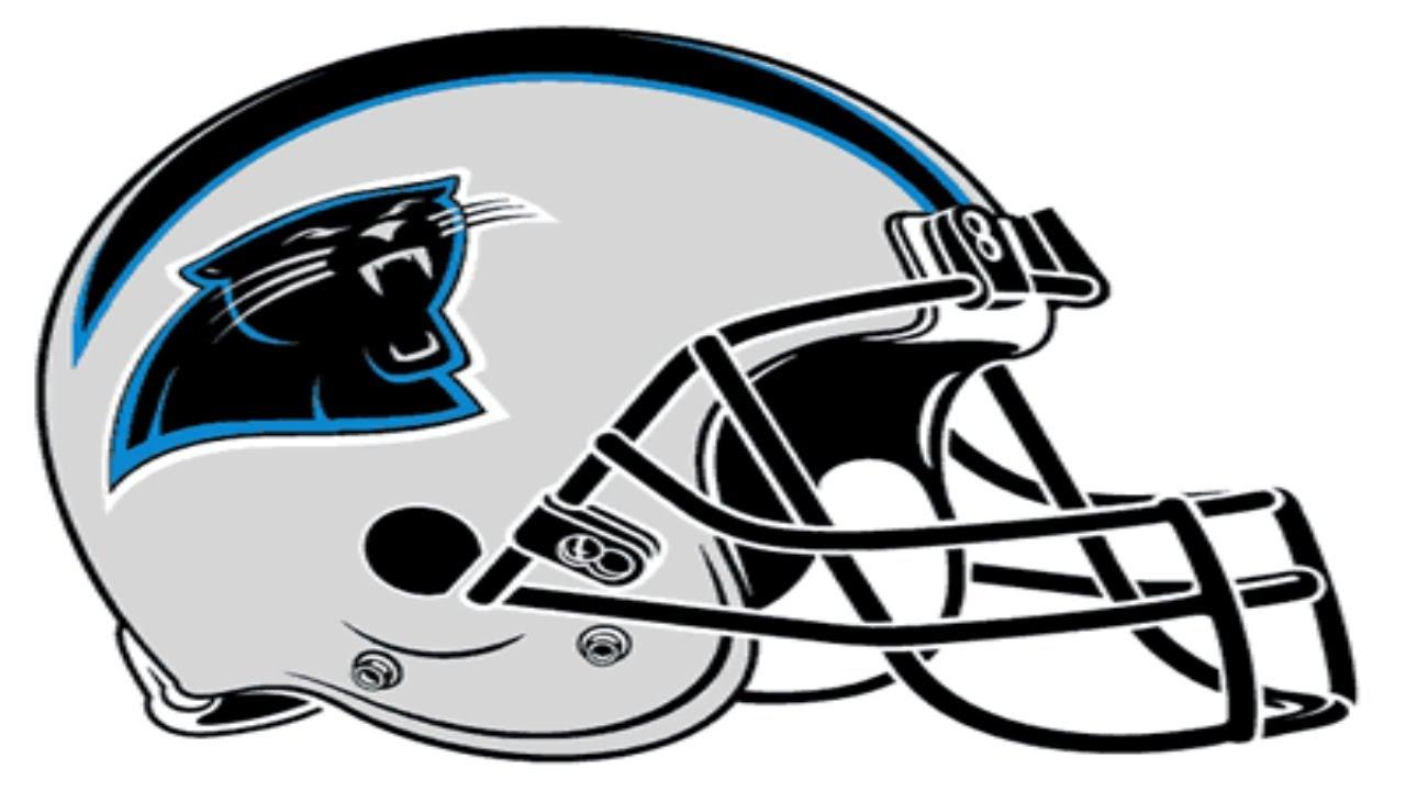 1280x720 Carolina Panthers Football Symbol Coloring Page