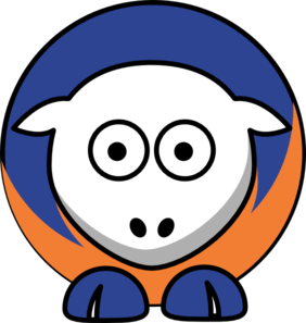 282x297 Sheep Boise State Broncos Team Colors