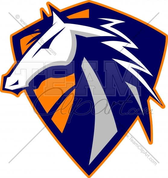 557x590 Bronco Clipart Clipart Image. Easy To Edit Vector Format.