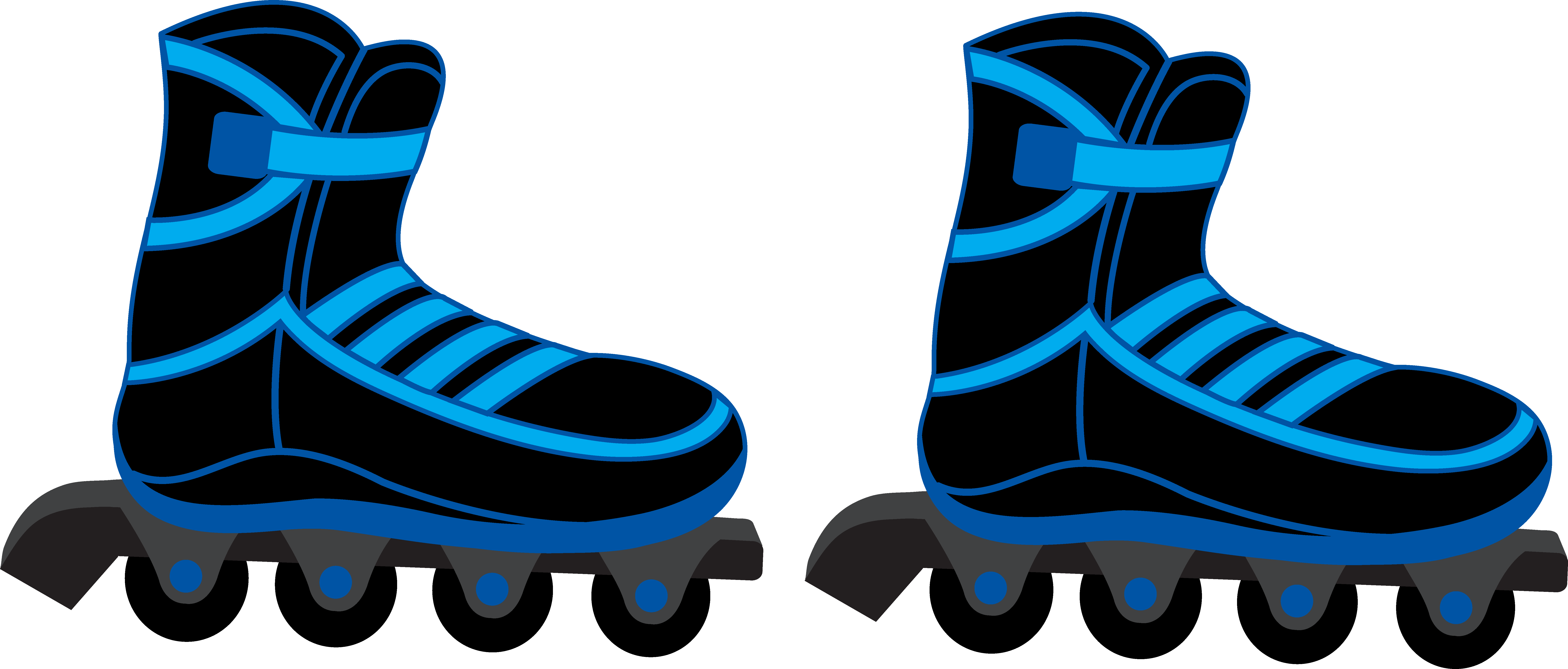8272x3530 Roller Skate Clipart Free Collection Download And Share Roller