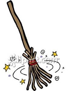 225x300 Collection Of Witch Broom Clipart Free High Quality, Free