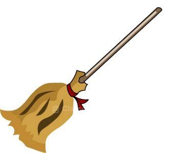 350x300 Clipart Broom