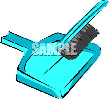350x319 Hand Broom And Dustpan