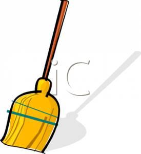 275x300 A Straw Broom