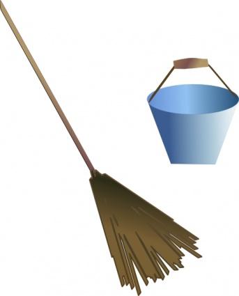 343x425 Broom Bucket Clip Art Clip Arts, Free Clipart