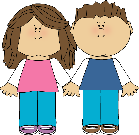 578x562 Brother And Sister Clip Art, Crafts And Dolls