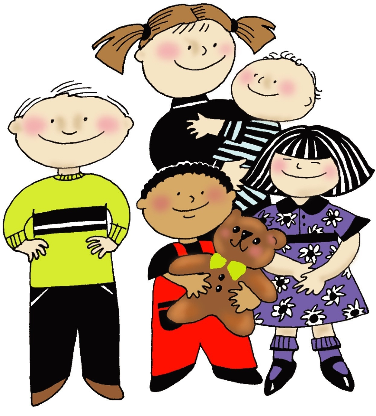 1245x1377 New Siblings Clipart Design