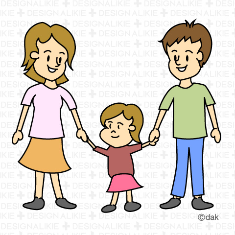 480x480 Three Siblings Clipart