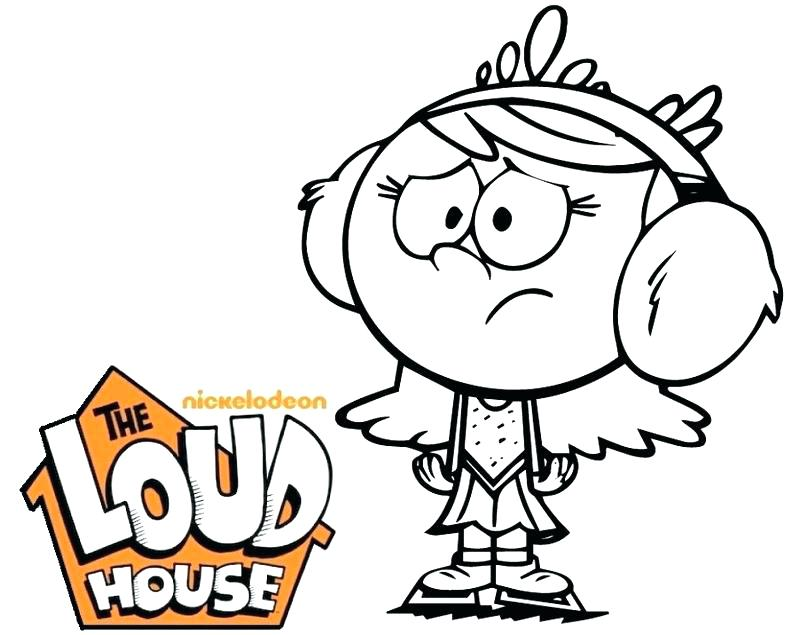800x635 The Loud House Coloring Book