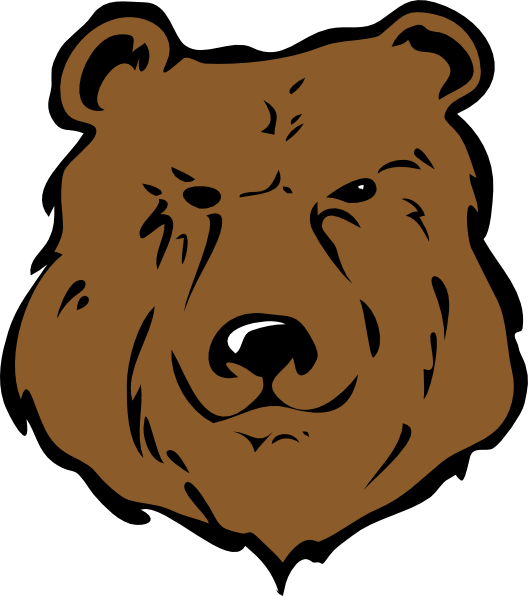 528x596 Brown Bear Head Drawing Png, Svg Clip Art For Web