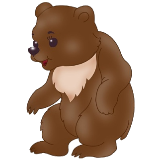 320x320 Brown Bear Clipart