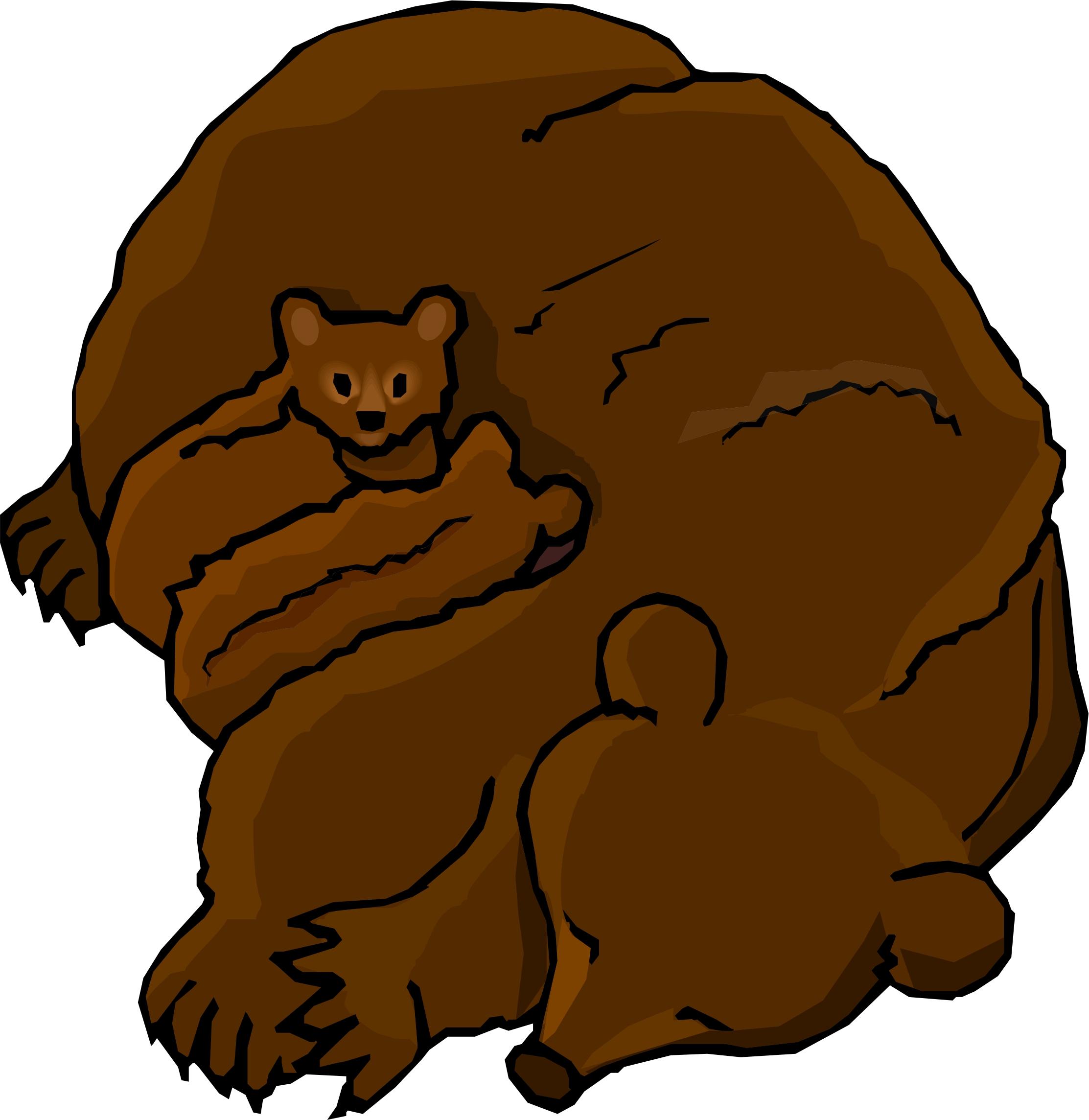 brown bear brown bear clipart at getdrawings com free for personal rh getdrawings com brown bear clip art images brown bear clipart free
