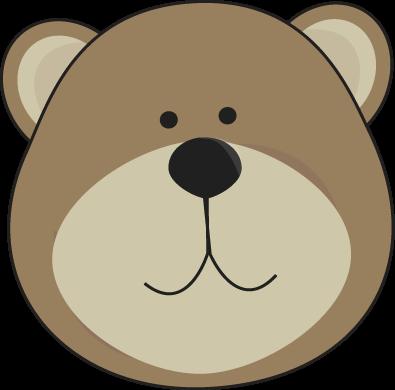 395x390 Image Of Bear Head Clipart