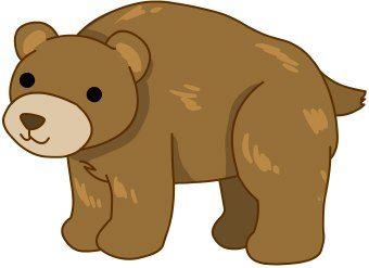 340x247 Elegant Clip Art Of A Bear