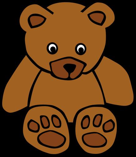 436x500 Brown Bear Clip Art Clipartlook