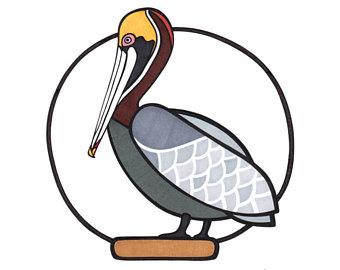 340x270 Pelican Illustration Etsy