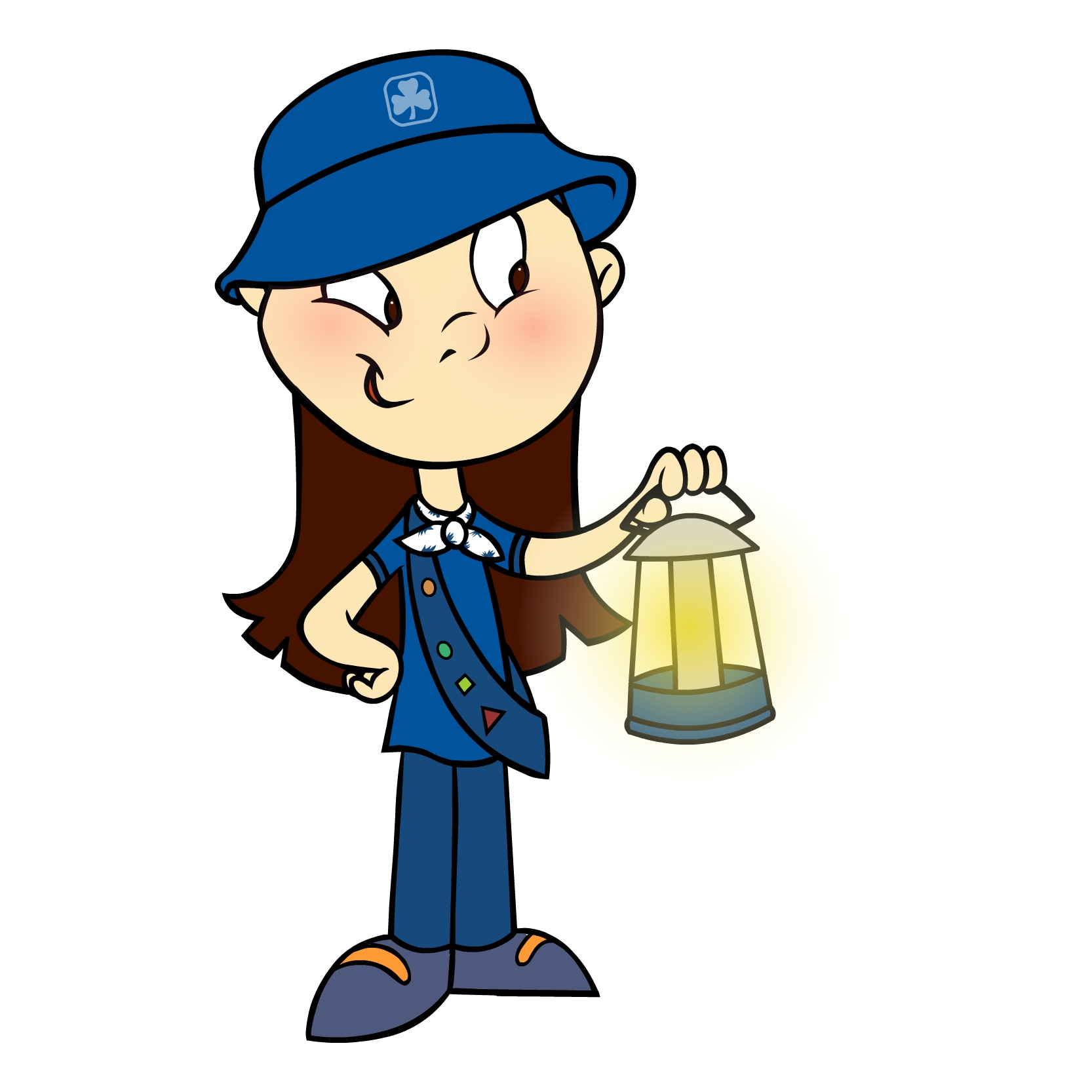 1666x1666 Brownie Clipart Brownie Guides