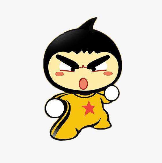 560x565 Bruce Lee Cartoon With Onion Heads, Onion, Modelling, Bruce Lee