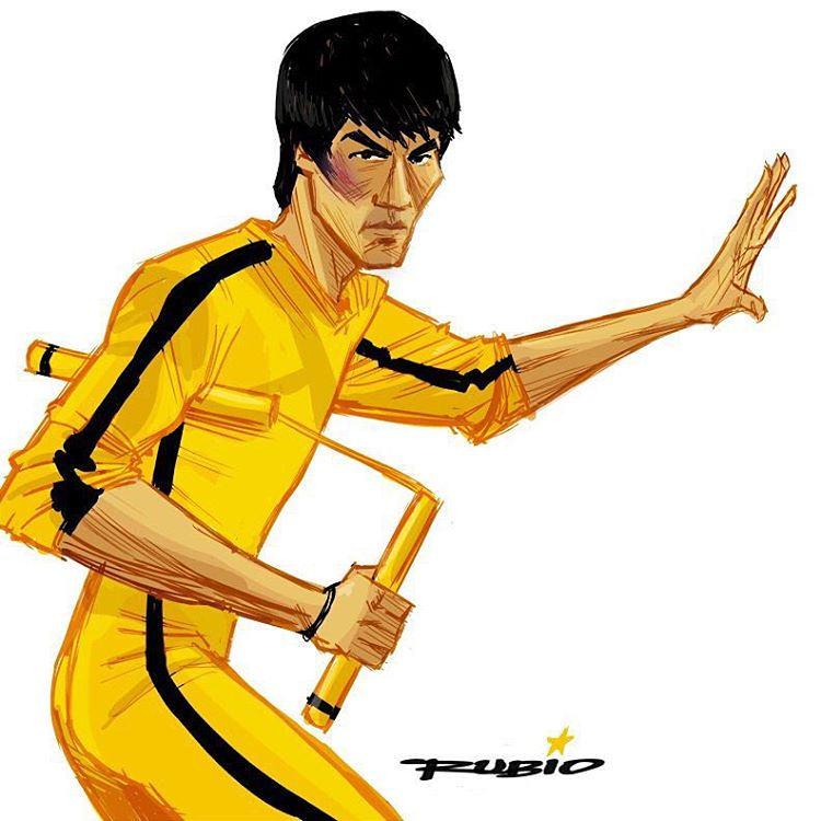 750x750 Bruce Lee By @bobbyrubio