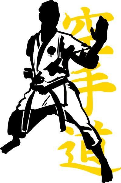 399x600 Karate 39 Karate Figure Kanji.jpg Japan And East
