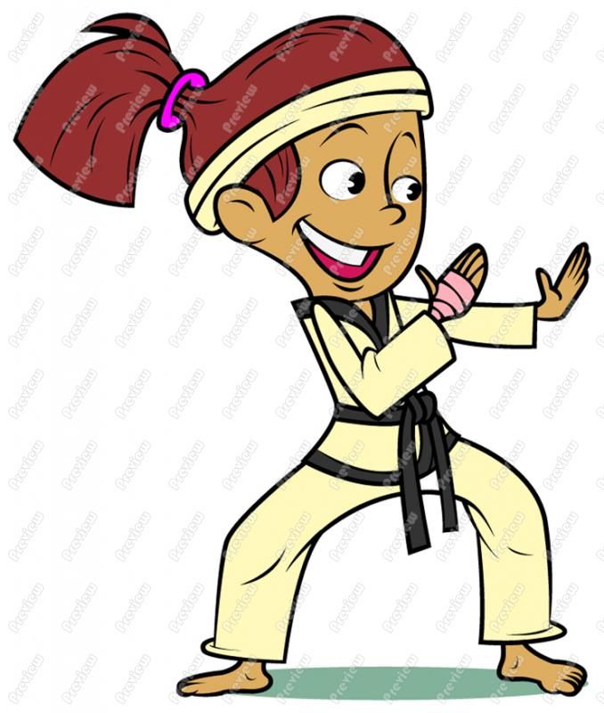 678x800 Martial Arts Clipart Cartoon