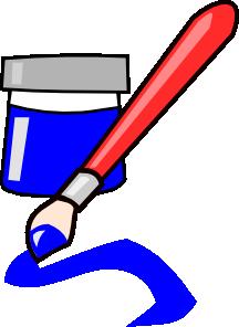 216x296 Paint Brush Clip Art