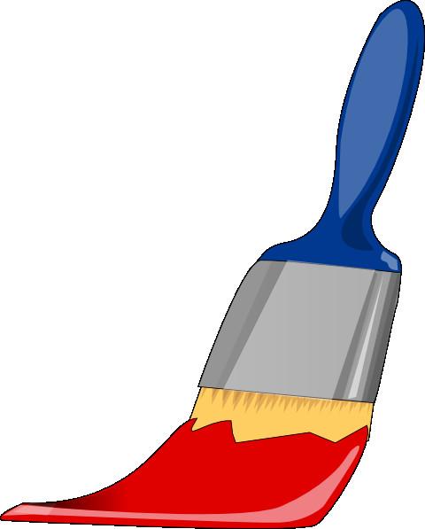 480x597 Art Paint Brush Clipart Magic Paintbrush Clip Art