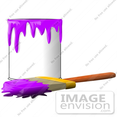 450x450 Brush Clipart Paint Can