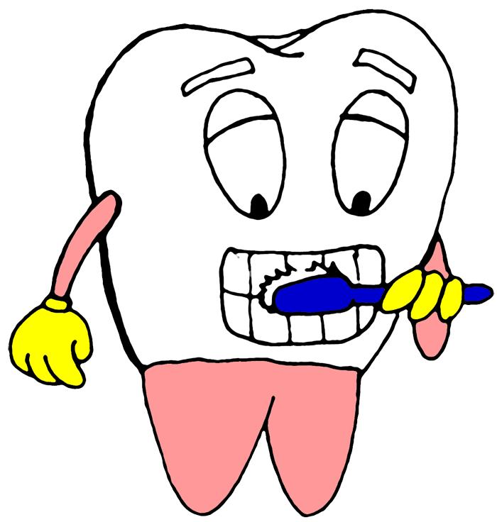 700x736 Brush Your Teeth Clipart