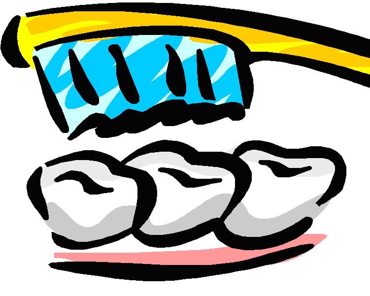 751x601 Image Of Brush Teeth Clipart